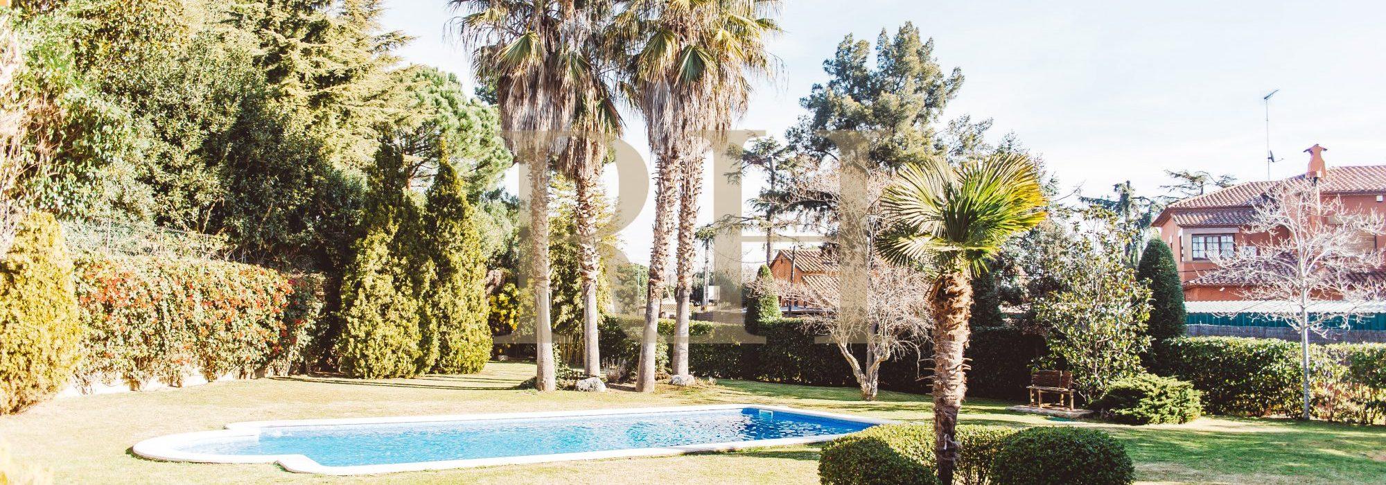 Espectacular Chalet con piscina y parcela grande en Sant Andreu de Llavaneres
